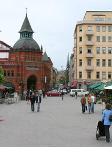 Trk na trg: Östermalmstorg, Stokholm