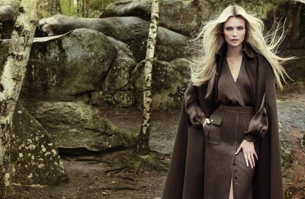 natasha poly1 Vogue Turkey: Natasha Poly i jesenja priča