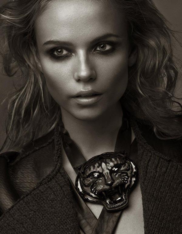 natasha poly10 Vogue Turkey: Natasha Poly i jesenja priča