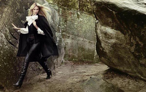 natasha poly21 Vogue Turkey: Natasha Poly i jesenja priča