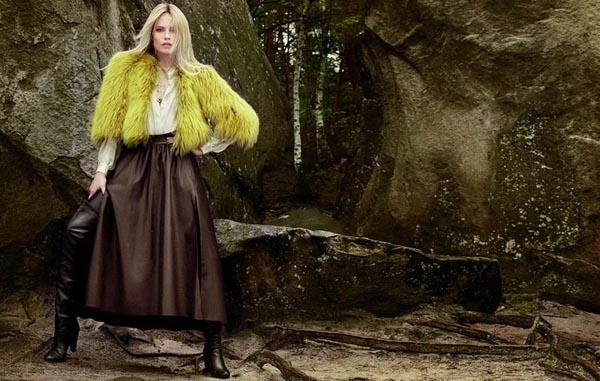 natasha poly4 Vogue Turkey: Natasha Poly i jesenja priča
