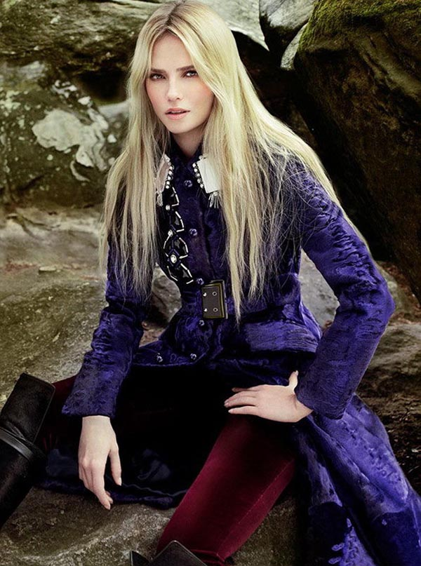 natasha poly6 Vogue Turkey: Natasha Poly i jesenja priča