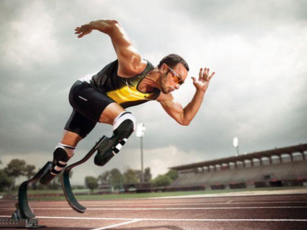 pistorijus Paraolimpijske igre takođe su Olimpijada