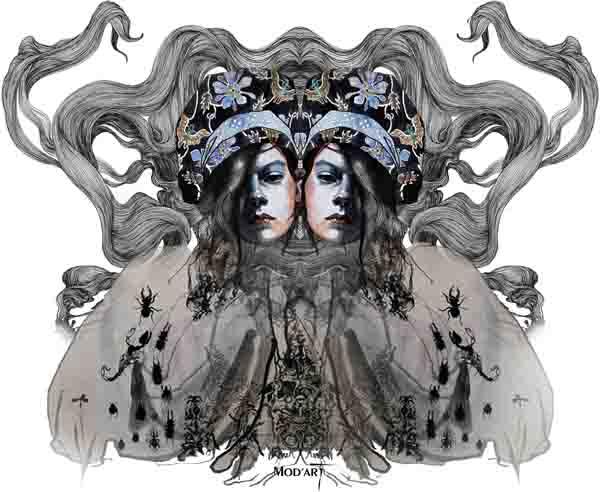 print ilustracija Nevena Ivanović: Modna ilustracija kao strast