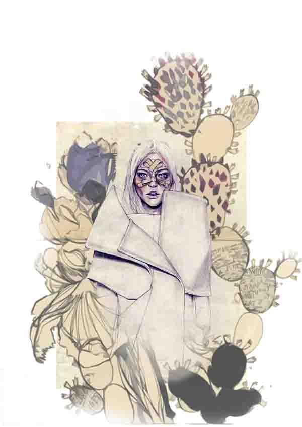 print ilustracija3 Nevena Ivanović: Modna ilustracija kao strast