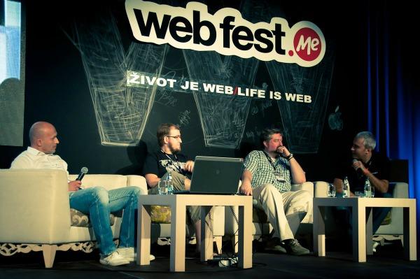 regionalna panel diskusija1 Drugi dan Web Fest .ME konferencije