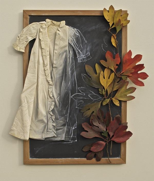 ron isaacs slika 2 Ron Isaacs: Mrtva priroda oživljena na komadima garderobe