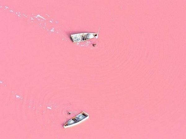 slika 126 Jezero Retba: Prirodno blago Senegala