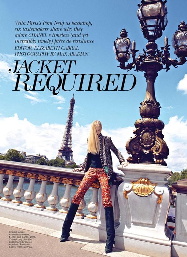 """slika 146 """"Flare"""": Večna jakna Chanel"""