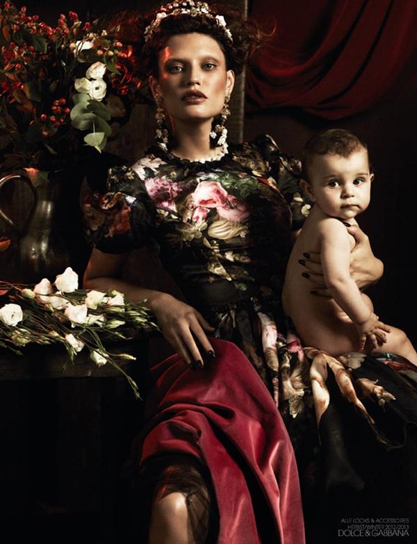 """slika 19 """"Interview Germany"""": Barokna umetnost sa potpisom Dolce & Gabbana"""