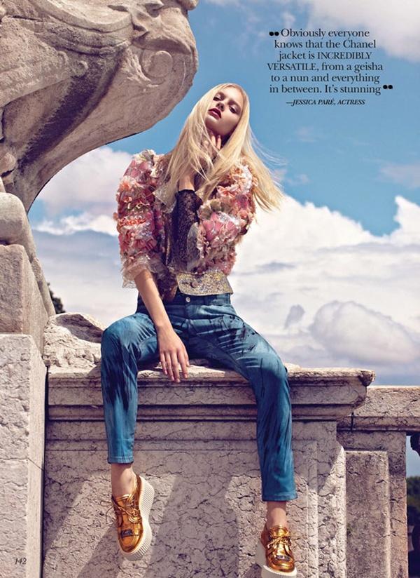 """slika 233 """"Flare"""": Večna jakna Chanel"""