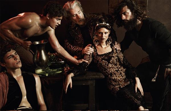 """slika 28 """"Interview Germany"""": Barokna umetnost sa potpisom Dolce & Gabbana"""