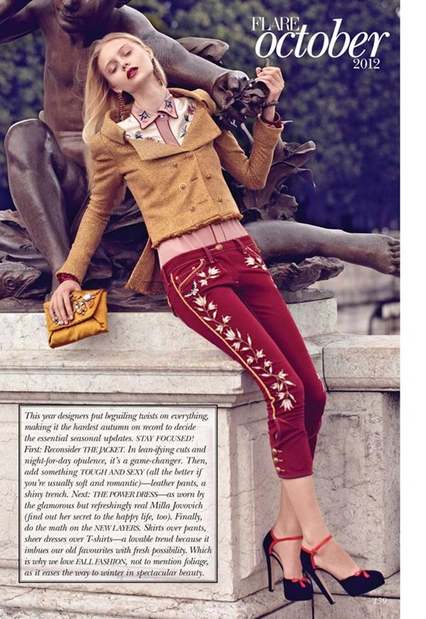 """slika 326 """"Flare"""": Večna jakna Chanel"""