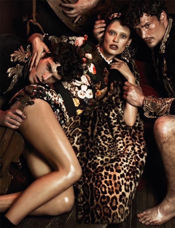 """slika 38 """"Interview Germany"""": Barokna umetnost sa potpisom Dolce & Gabbana"""