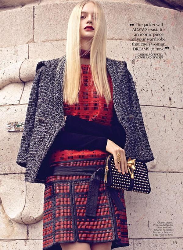 """slika 425 """"Flare"""": Večna jakna Chanel"""