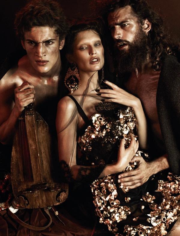 """slika 49 """"Interview Germany"""": Barokna umetnost sa potpisom Dolce & Gabbana"""