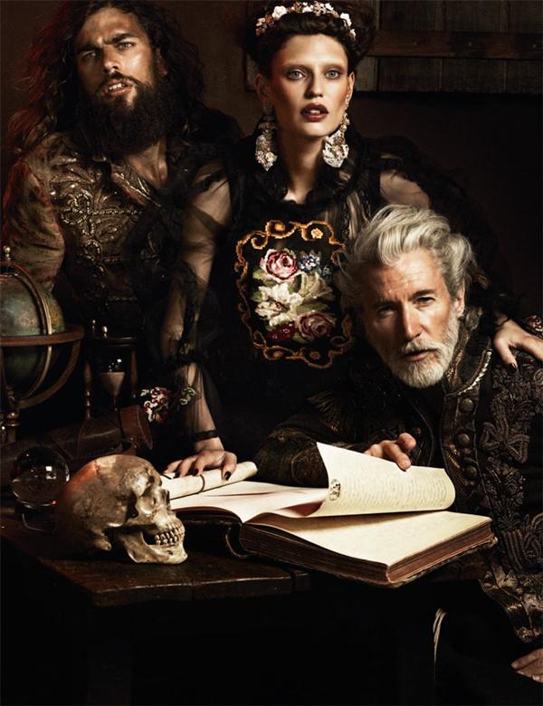 """slika 56 """"Interview Germany"""": Barokna umetnost sa potpisom Dolce & Gabbana"""