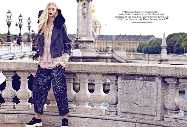 """slika 620 """"Flare"""": Večna jakna Chanel"""