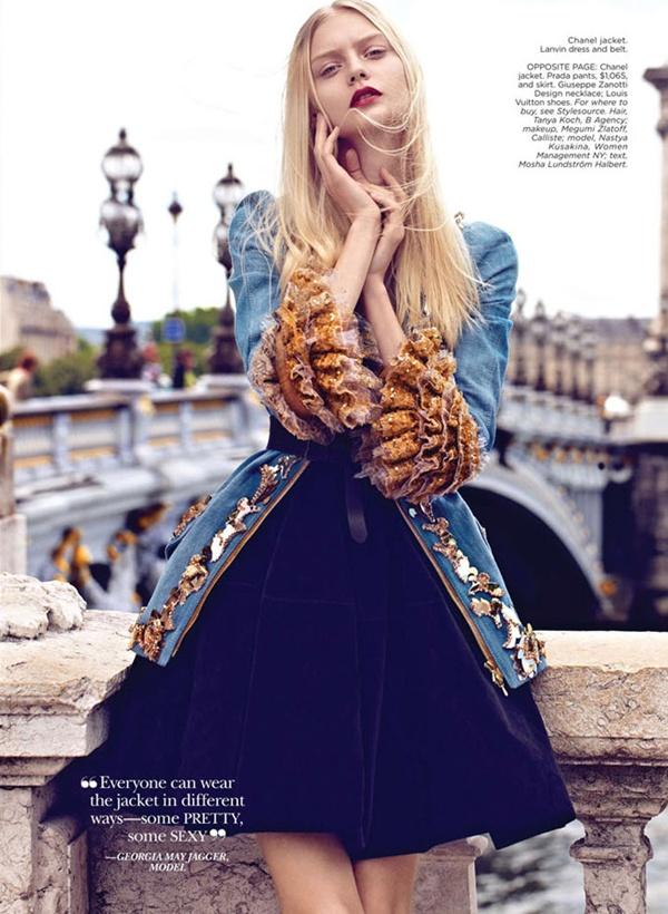 """slika 819 """"Flare"""": Večna jakna Chanel"""