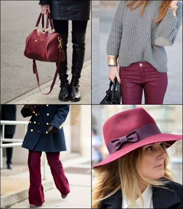 slika 88 Trend alarm: Burgundi boja