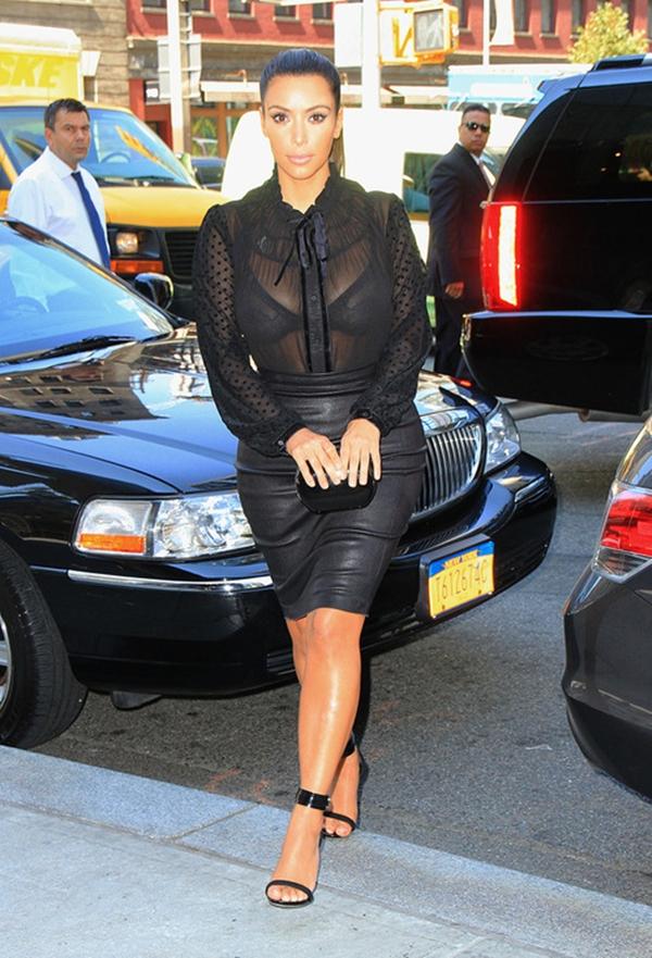 slika123 Stil dana: Kim Kardashian