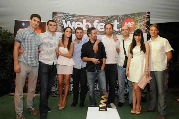 web fest me tim1 Svečano otvoren Web Fest .ME 2012