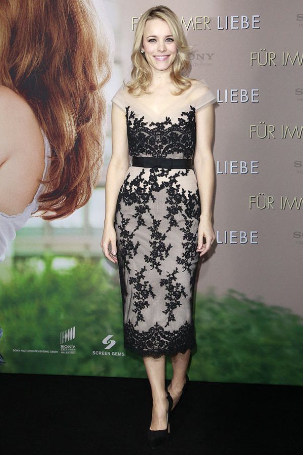 10. 10 haljina: Rachel McAdams