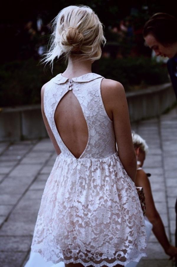11 Čeprkanje po ormaru: Bela čipkasta haljina