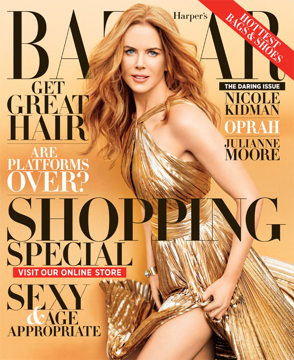 "124 Modni zalogaj: Nicole Kidman za ""Harper's Bazaar"""