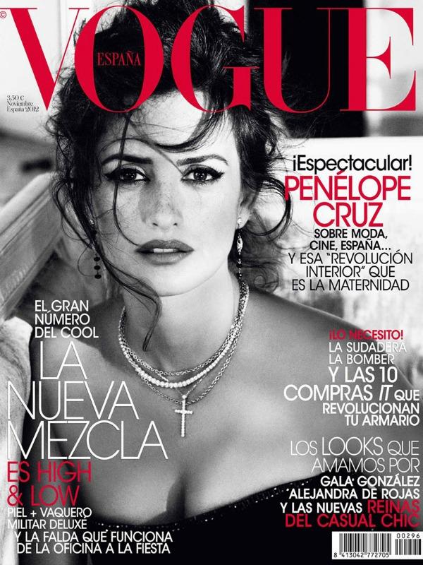 149 Modni zalogaj: Seksepilna Penelope Cruz za španski Vogue