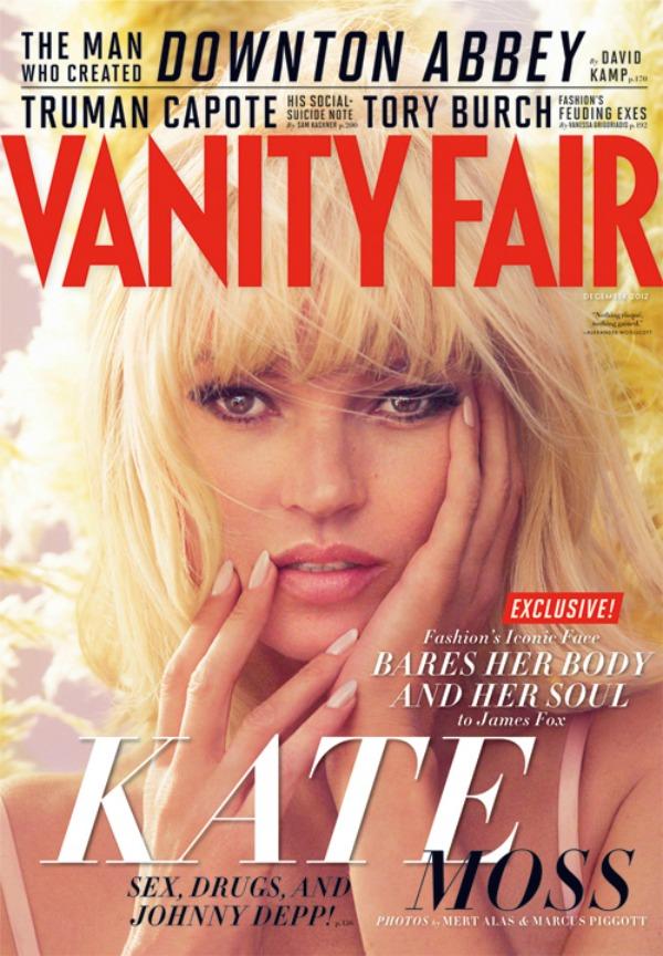 """166 Modni zalogaj: Kate Moss za """"Vanity Fair"""""""