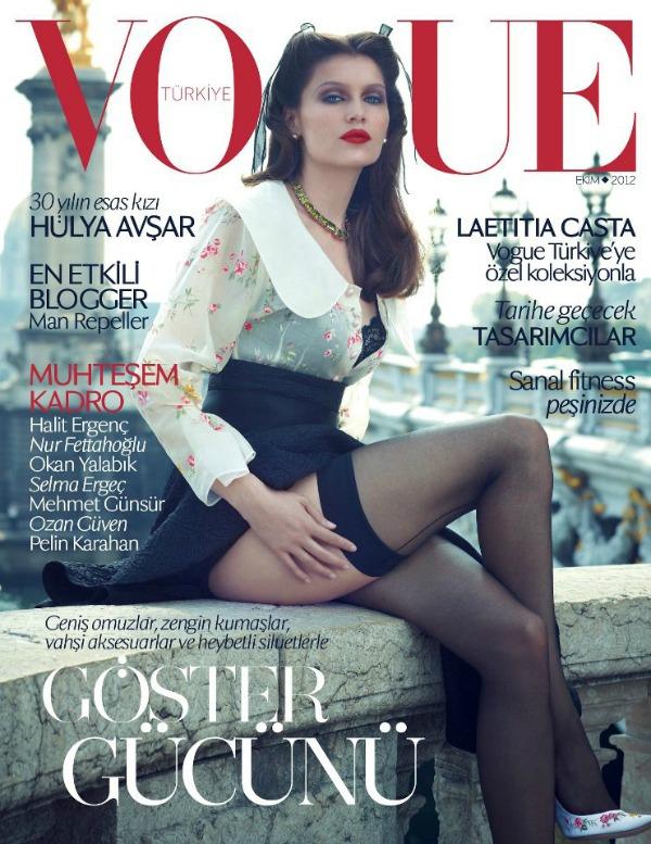 17 Modni zalogaj: Laetitia Casta za Vogue Turkey
