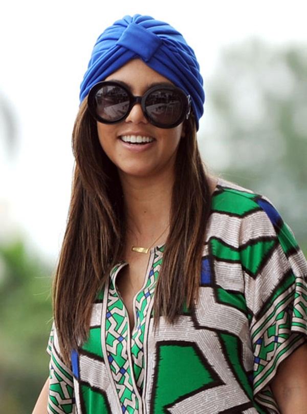 18 Omiljeni predmeti poznatih: Kourtney Kardashian i turbani