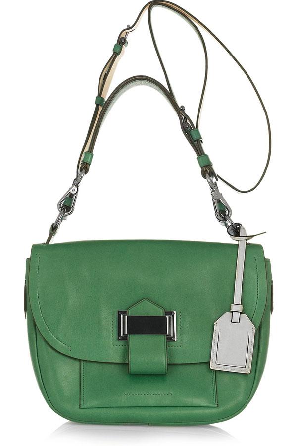 2. Moderna ko na torba na jedno rame Zeleno, volim te zeleno: Moderne torbe za jesen