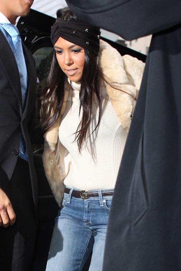 24 Omiljeni predmeti poznatih: Kourtney Kardashian i turbani