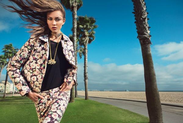 311 Juicy Couture: Karlie Kloss u pokretu