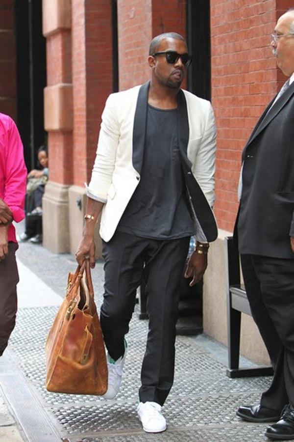 42 10 odevnih kombinacija: Kanye West