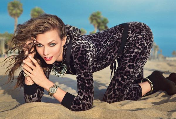 48 Juicy Couture: Karlie Kloss u pokretu