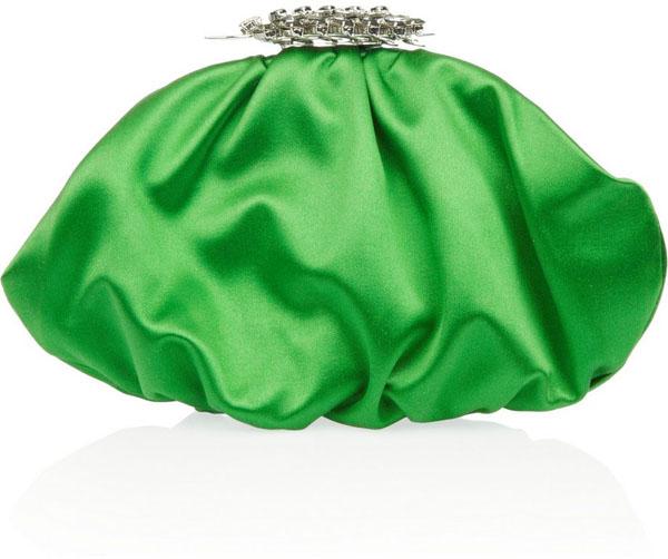 6. Sve ani zeleni clutch model od satena Zeleno, volim te zeleno: Moderne torbe za jesen