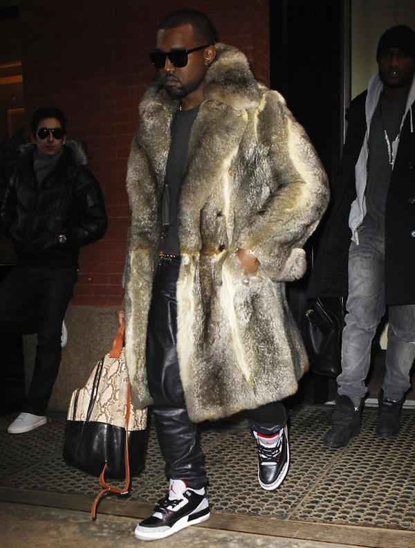 62 10 odevnih kombinacija: Kanye West