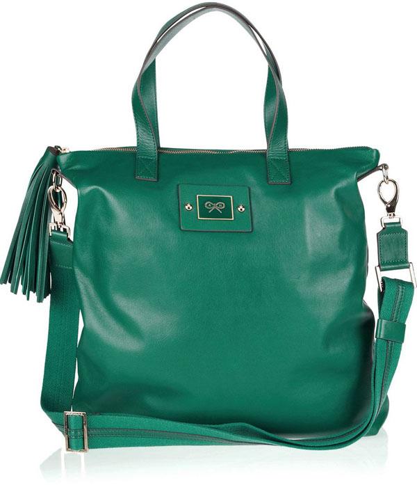 7. Sofisticirana dnevna torba Zeleno, volim te zeleno: Moderne torbe za jesen