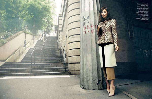 "814 ""Glamour Italia"": Dama u Parizu"