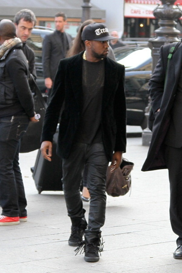 92 10 odevnih kombinacija: Kanye West