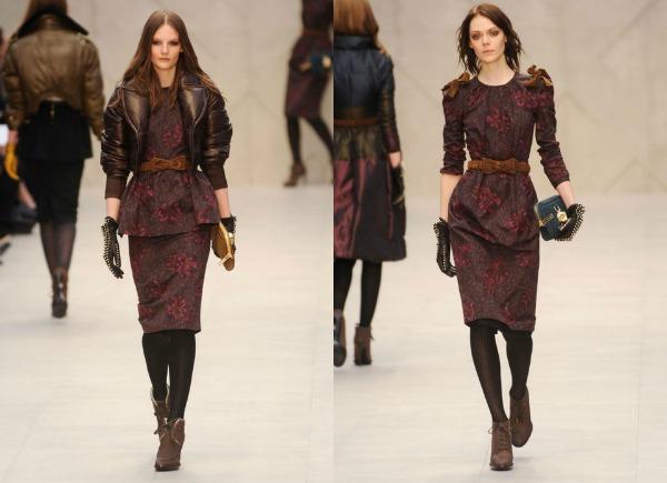 F21 Jesen i zima na modnim pistama: Burberry
