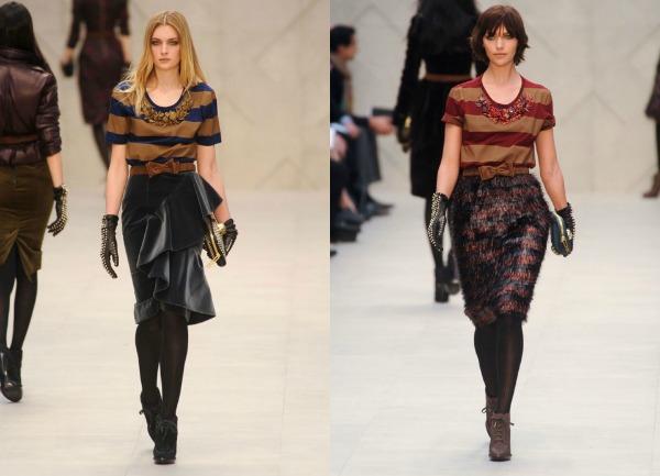 F31 Jesen i zima na modnim pistama: Burberry