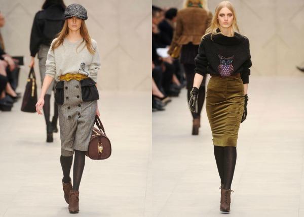 F41 Jesen i zima na modnim pistama: Burberry