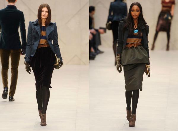 F51 Jesen i zima na modnim pistama: Burberry