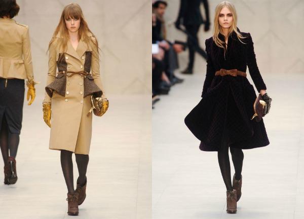 F6 Jesen i zima na modnim pistama: Burberry