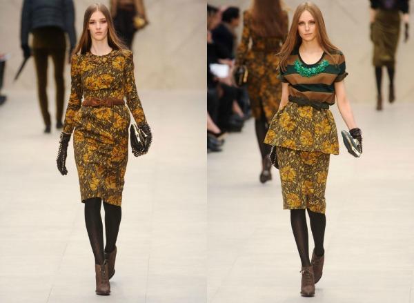 F7 Jesen i zima na modnim pistama: Burberry