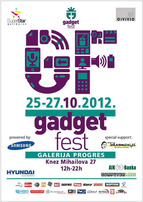 GADGETfest plakat Gadget Fest™ 2012.